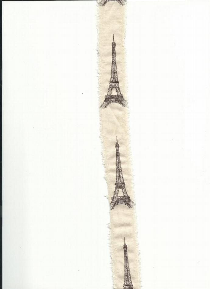 EIFFEL TOWER hand made ribbon paris apartment french trim country gift wrap
