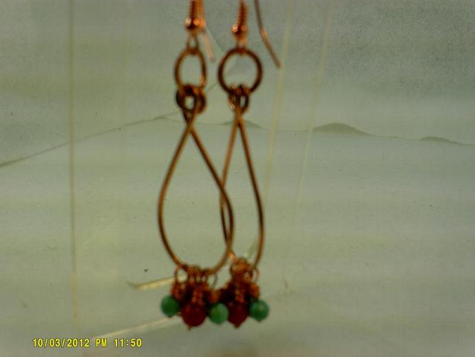 Copper Earrings-Item #0167