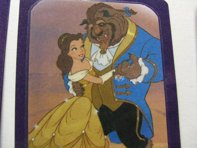 REDUCED- Beauty and the Beast Bookmarks-Set of 5 Bookmarks- Ready for your