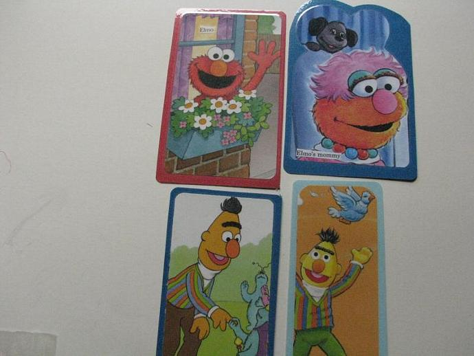 Reduced-Sesame Street -Set of 4 - Ready for your child's favorite book or great