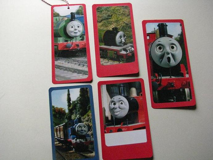 reduced-Thomas the Train and Friends- Set of 5- Ready for your child's favorite