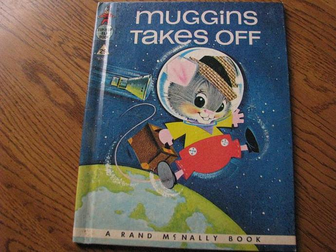 """Rand McNally & Company Vintage Book - """"Mugging Takes Off """" by Marjorie Barrows"""