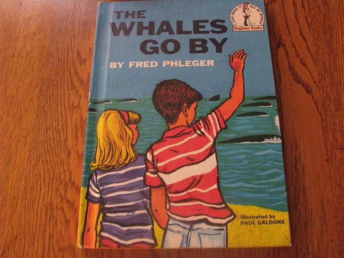 The Whales Go By by Fred Phleger, Paul Galdone - Illustrator