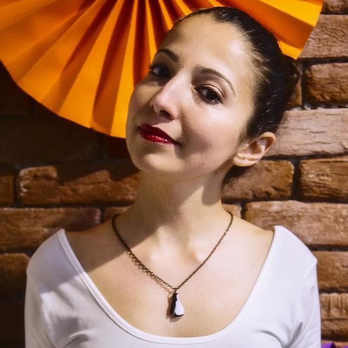 Penguin Necklace,Plexiglass Jewelry,Animal Jewelry,Gifts Under 25