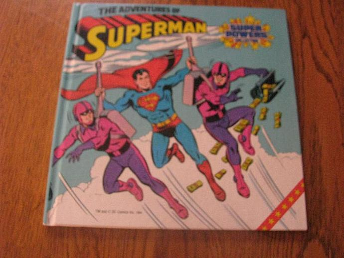 adventures of superman - super powers tape collection book 1984