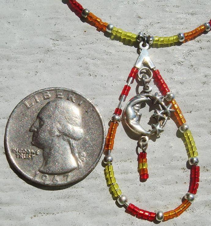 Celestial Moon & Stars Necklace