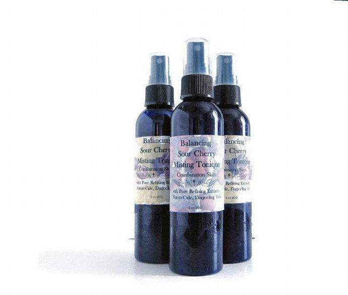 Sour Cherry Mist Facial Tonique for large-pored and mature skin with Hyaluronic