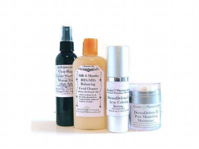 Plantaceuticals Acne DermaDefense Set Kit for Mature, Hormonal Acne Breakouts 4