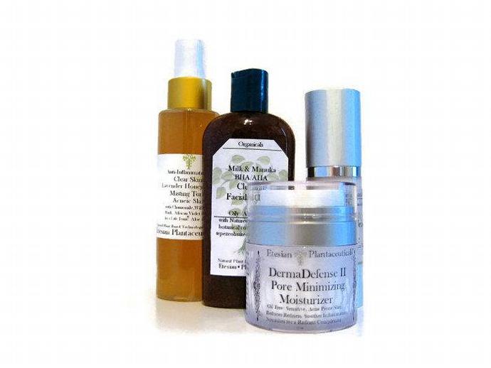 Plantaceuticals Acne DermaDefense Set Kit Advanced BioActives - SAVE 15