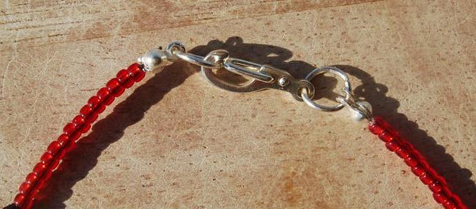 Ladybug Anklet