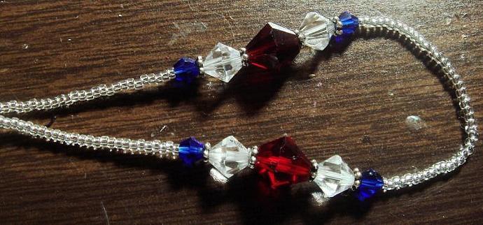 Red, White & Blue Slave Bracelet