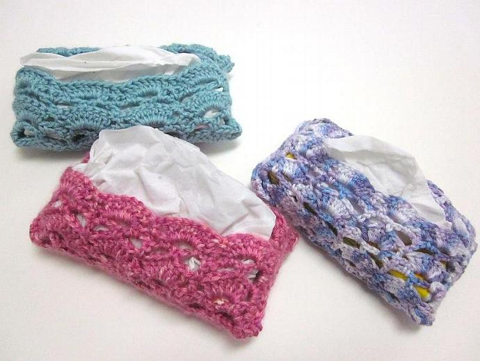 Travel Tissue Holder, Kleenex Case, Cozy, Cover