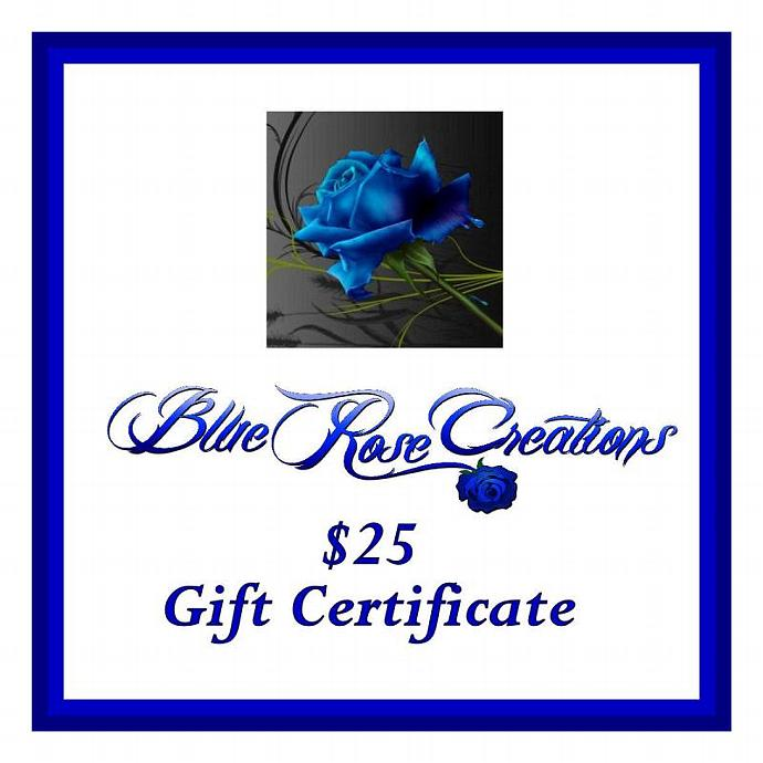 Blue Rose Creations - Lady Pirotessa - Gift Certificate - $25.00 - $25 - 25
