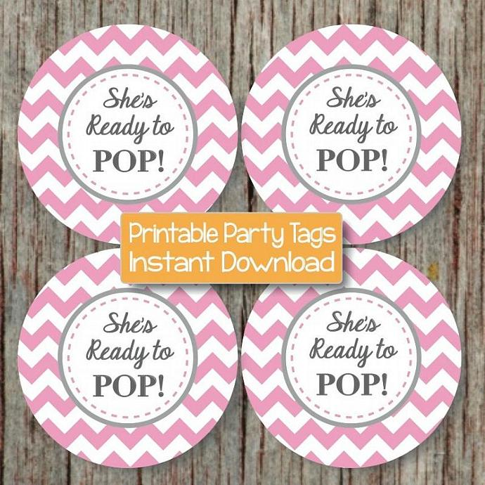photo about Printable Baby Shower Labels called Well prepared toward Pop Printable Little one Shower Stickers Social gathering Desire Little one Shower do-it-yourself Cupcake Toppers Prefer Labels Gum Purple Gray Electronic - 066