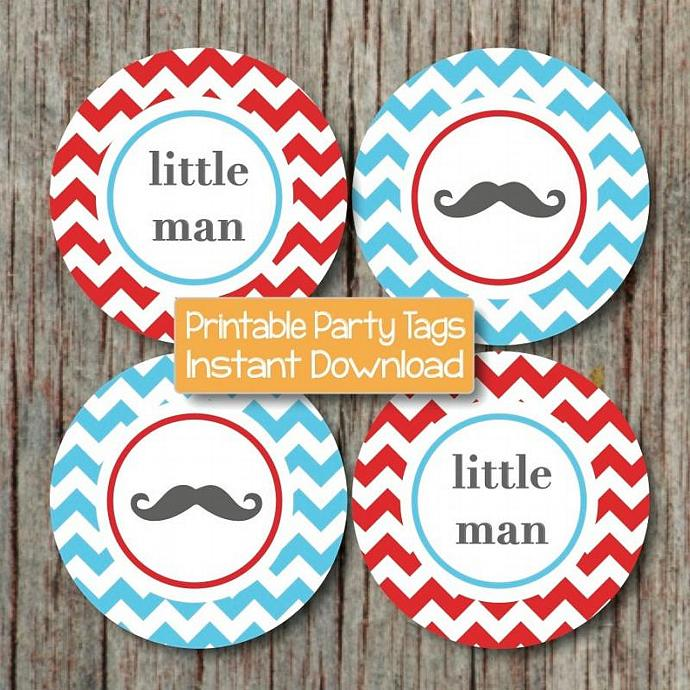 Little Man Baby Shower Decorations By Bumpandbeyonddesigns On Zibbet