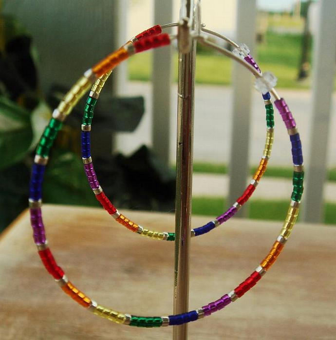 Pride Hoop Earrings