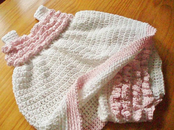 Crochet Pattern Baby Sundress And Frilly By Flossiepotts On Zibbet