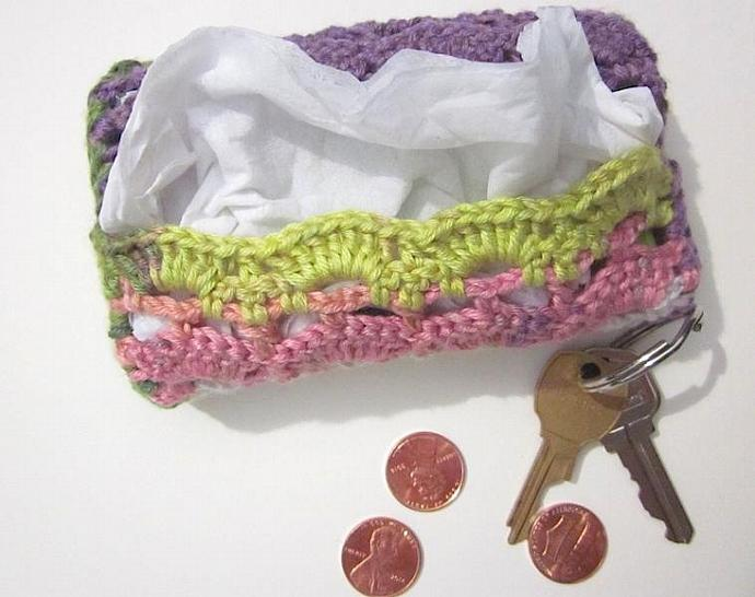 Travel-size Tissue Case, Cozy, Cover