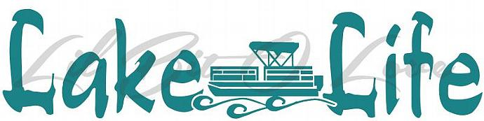 Lake Life Stickers Kamos Sticker - Decals for pontoon boats