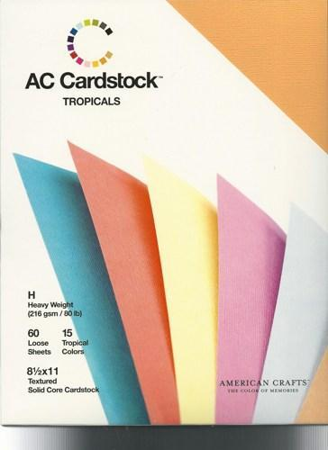 Tropicals Collection AC Cardstock