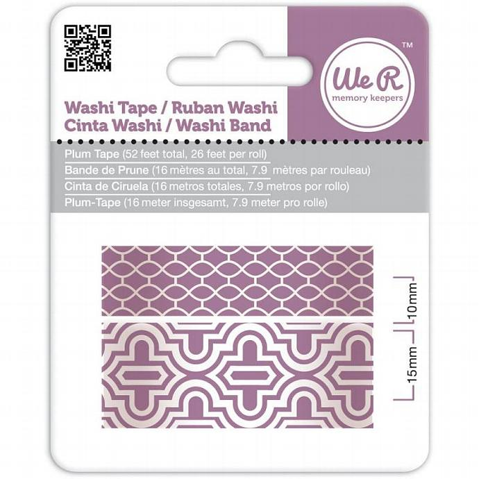 Plum Washi Tape by We R Memory Keepers