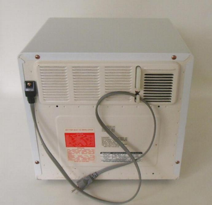sharp half pint microwave oven. sharp half pint microwave oven carousel mini cube digital r1a56