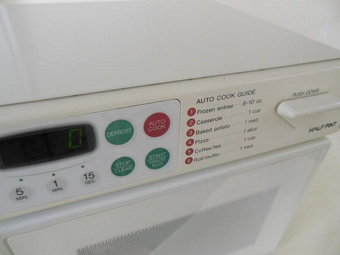 sharp half pint microwave oven. sharp half pint microwave oven carousel mini cube digital r1a56 2