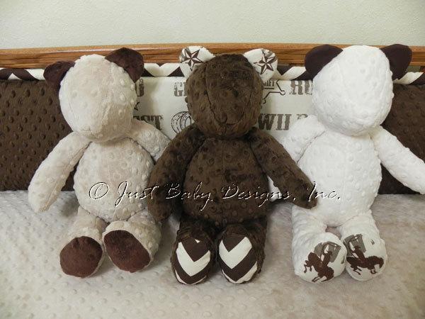 Snuggle Pal Stuffed Teddy Bear
