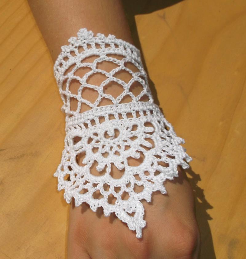 Henna Cuff Www Jamilahhennacreations Com: Henna Tattoo Inspired Lace Slave Bracelet, By
