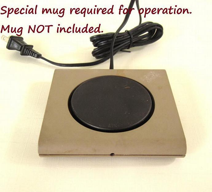 Cup Cake Mug Warmer Base - High Wattage 25 Watts mug not included (see