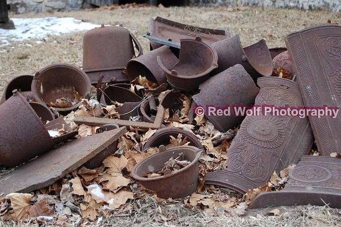Scrap Iron Photo Print