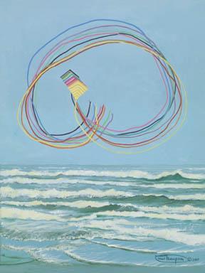 """TRLBYs Pretzel"" Giclee Paper Print by Carol Thompson"