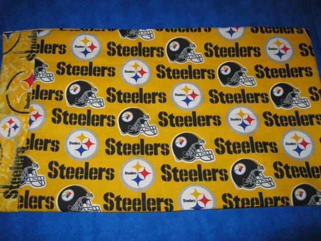 Team Sports Travel/Kids Pillowcase STEELERS