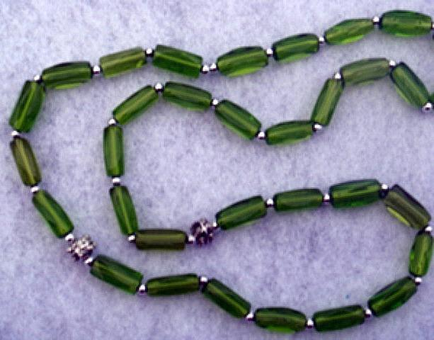 Green Islamic Subha سبحة or Misbaha مسبحة (Prayer Beads)