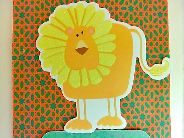 Farsi Dolled Up for Your Birthday Lion Card