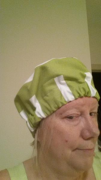 Scrub, Chef, Cancer hat,