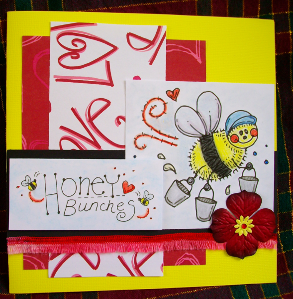 Honey bunches card