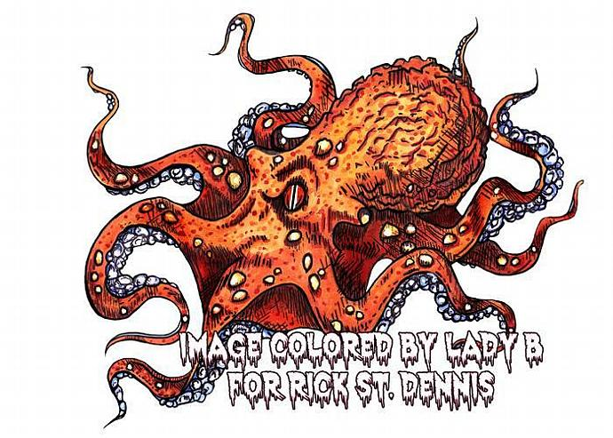 Octopus Digital Stamp
