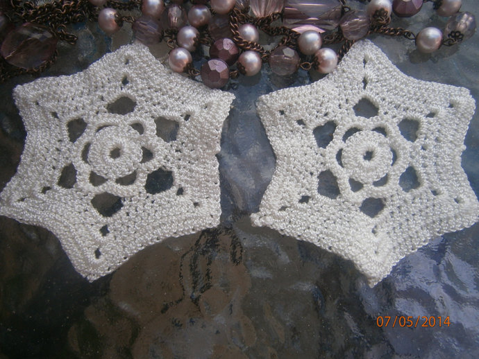 crochet applique stars (2)
