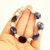 Sodalite Gemstone Bracelet, Blue & White, Handmade