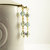 Handmade Beaded Hair Pins, Light Blue & Gold Sparkling Everyday Wear Bridal Hair