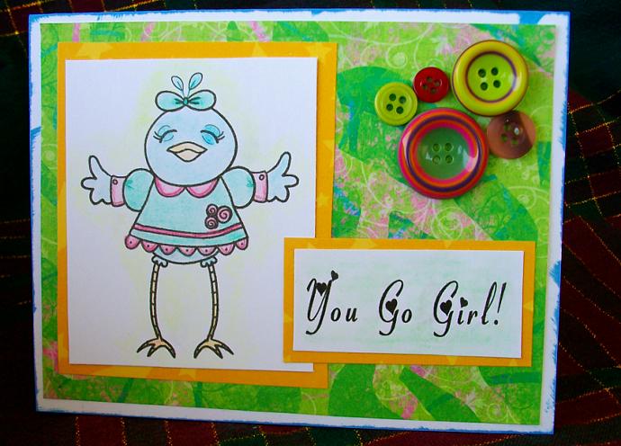 You go girl card