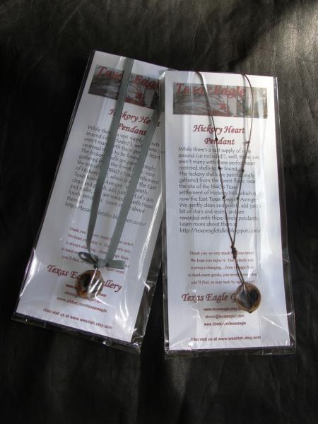 Eternal Love Hickory Heart Pendant Necklace