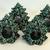 Ceramic Christmas Tree Napkin Ring Set