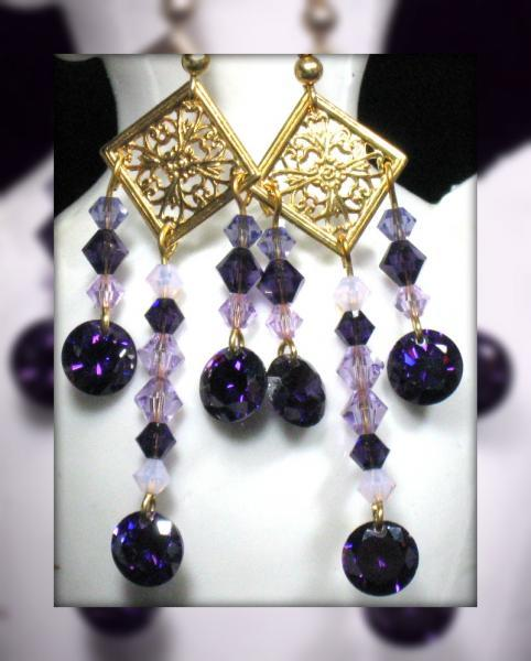 Amaranthine Earrings