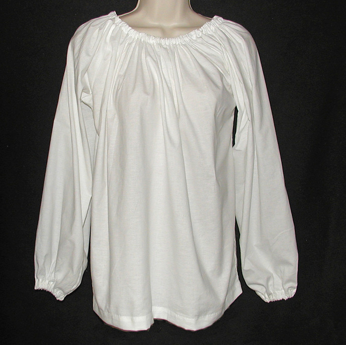 Women's Long Sleeve Peasant Blouse