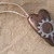 Steampunk gear heart pendant