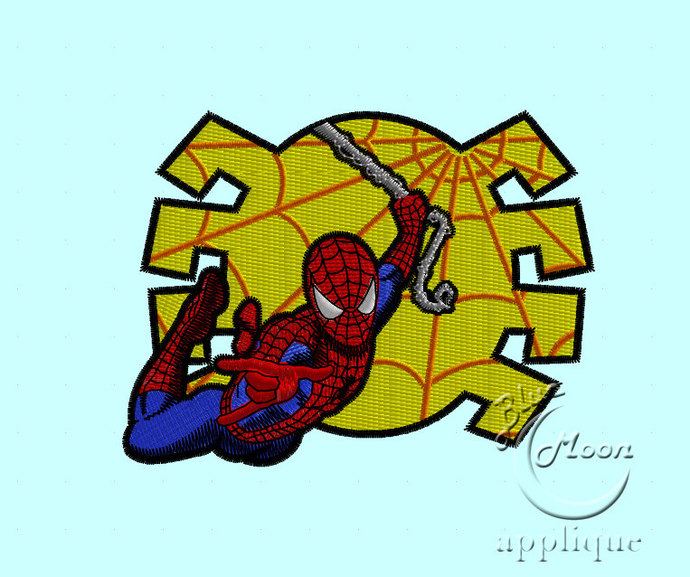Awesome spider-man Design for Embroidery Machines. Size 4x4.  Instant Download
