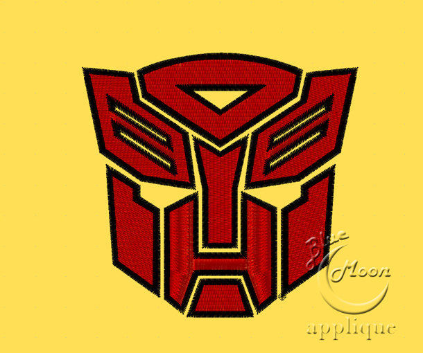 transformers autobots emblem Design for Embroidery Machines. Size 4x4.  Instant