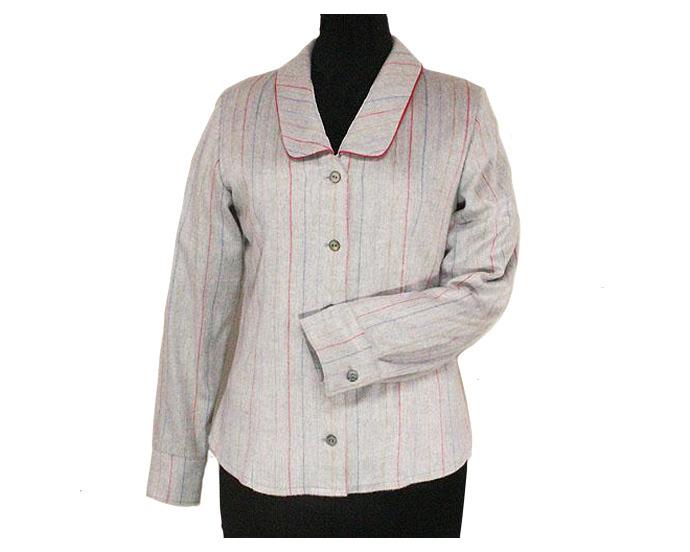 No Lumberjacks Women's Flannel Shirt - Sizes S, M, L